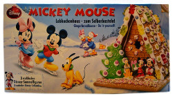 Micky Maus Lebkuchenhaus Do it yourself